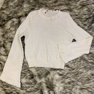 ModCloth bellbottom sleeve sweater woman's size M